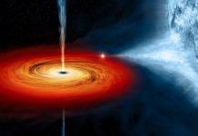 Black hole again woken up