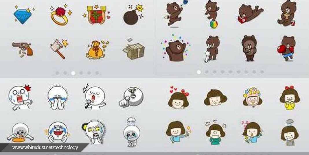 Line app sticker