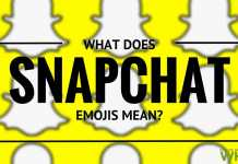 what does snapchat emojis mean