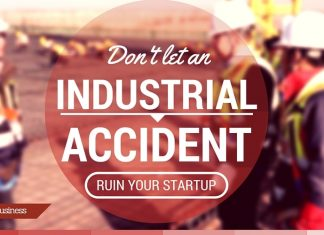 How to stop industrial accident to ruin my start up