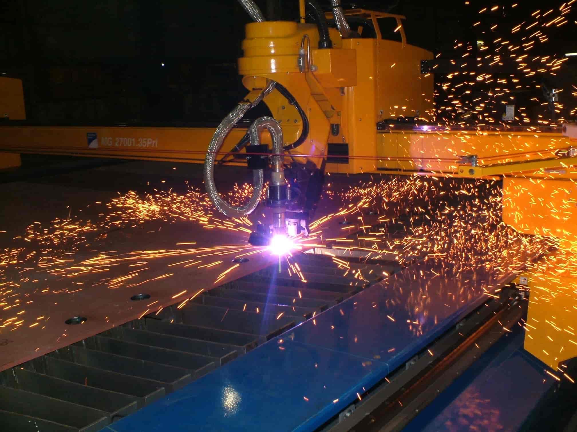 Plasma Laser Cutting
