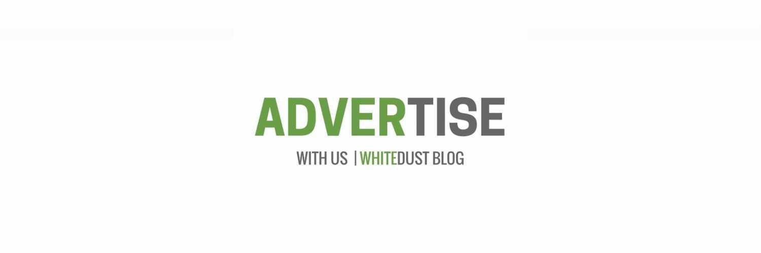 Advertise with whitedust blog