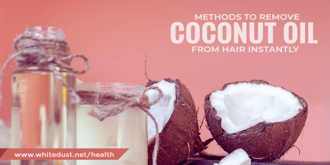 How To Get Coconut Oil Out Of Hair?