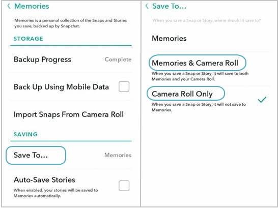 How To Make My Camera Roll Back Up On Snapchat - Best Digital and Camera