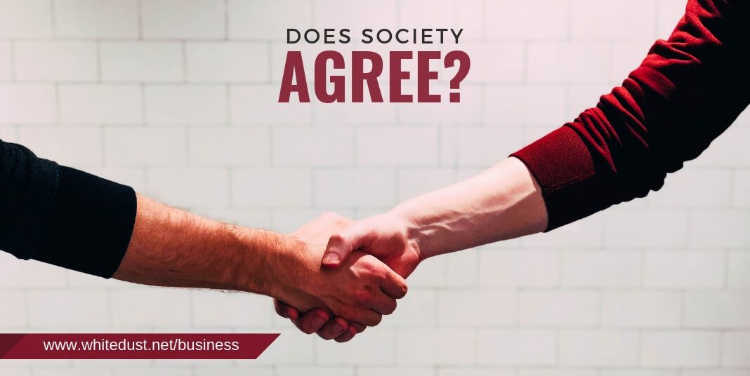 Does society agree?