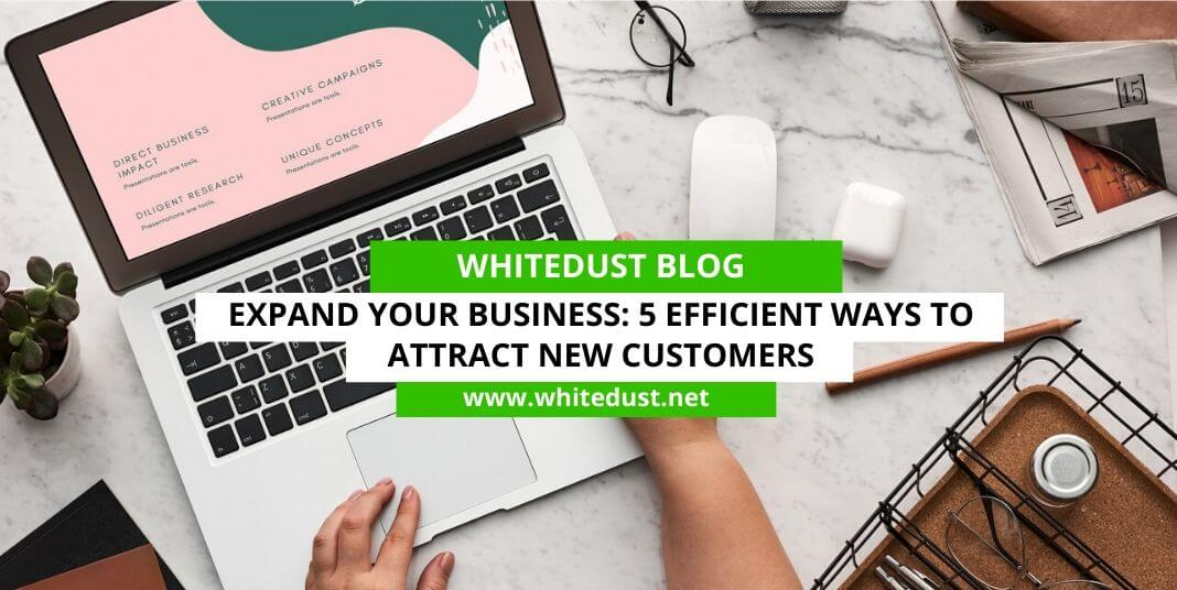 Expand Your Business: 5 Efficient Ways To Attract New Customers