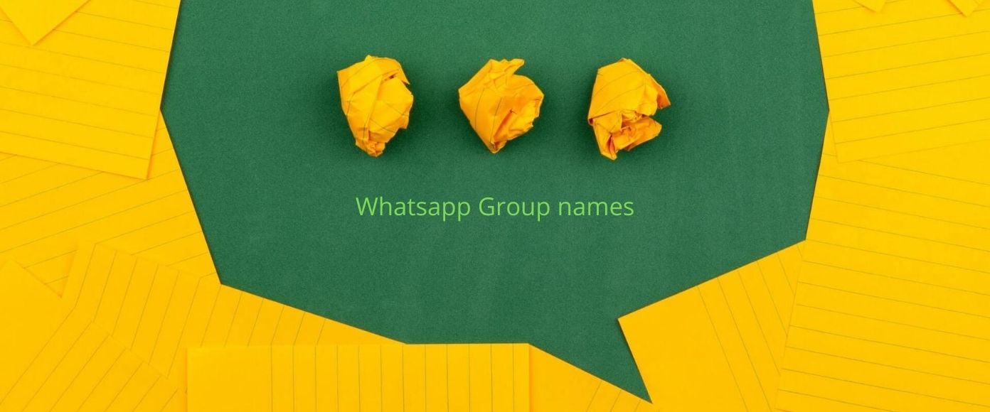 Most Funny And Best Whatsapp Group Names 2020 Whitedust