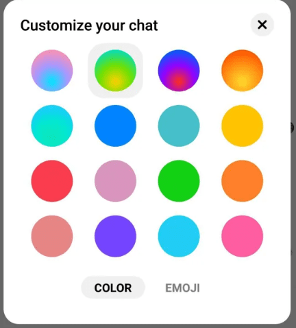 Facebook ignore messages