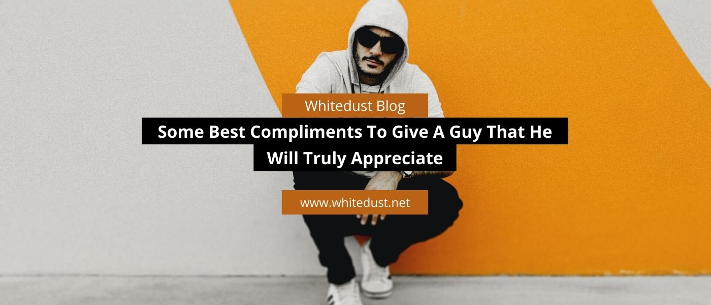 compliments to give a guy