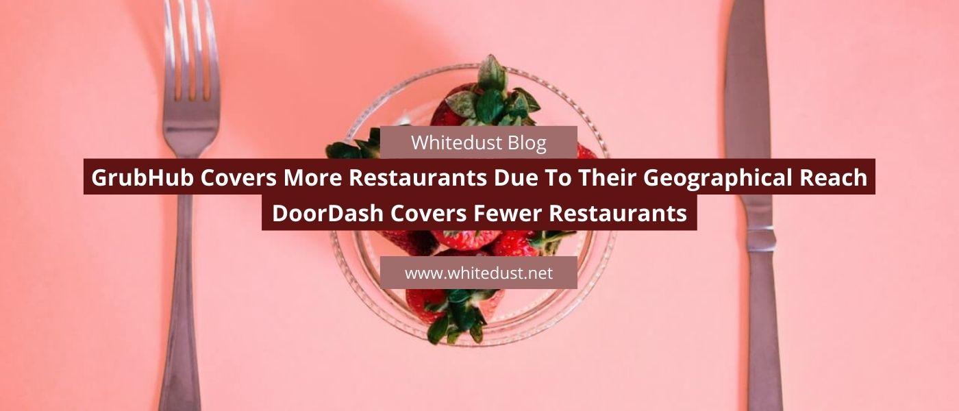 is doordash better than grubhub